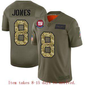 New York Giants Daniel Jones Jersey Camo